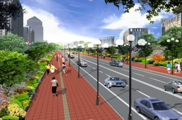 海绵城市道路系统